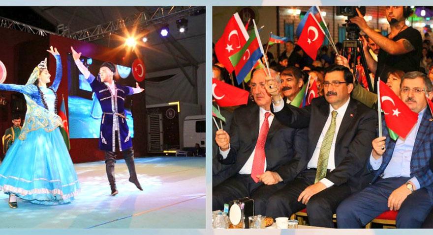 Kardeş Azerbaycan gecesi