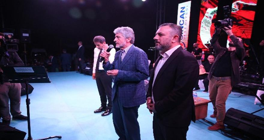 Mustafa Tuna Sincanlılarla buluştu