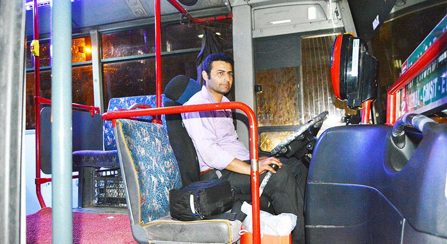 Ankara'nın gülen yüzlü şoförü