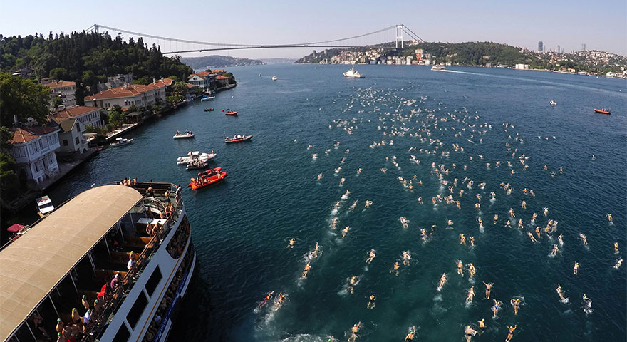 Ankara'da yüzme heyecanı