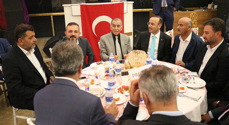 Etimesgut ve Sincan'daki Kırşehirliler iftarda bir araya geldi