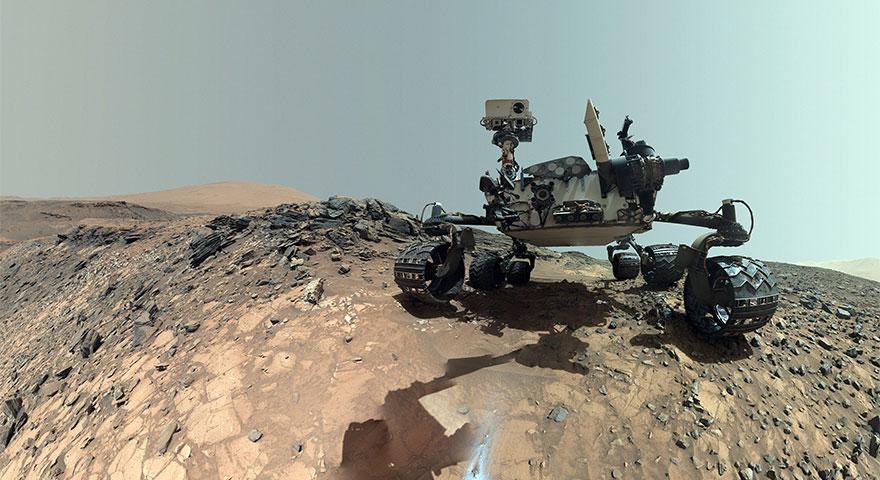 NASA'dan büyük keşif! Mars'ta organik moleküller bulundu