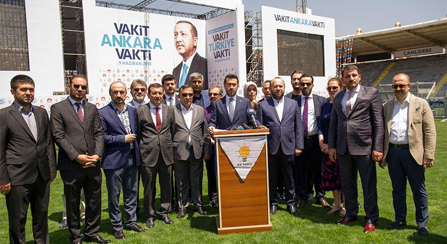 Cumhurbaşkanı Erdoğan AK Parti Büyük Ankara'ya geliyor