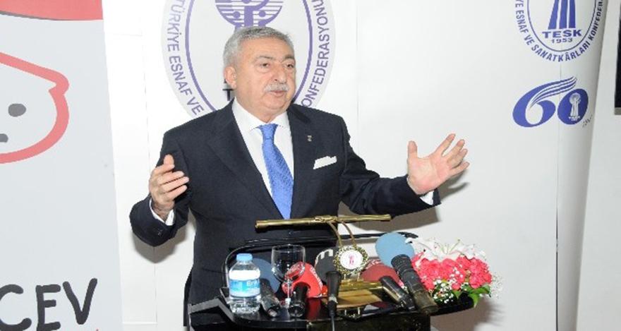 TESK Başkanı Palandöken: Kaçakçılık azaldı