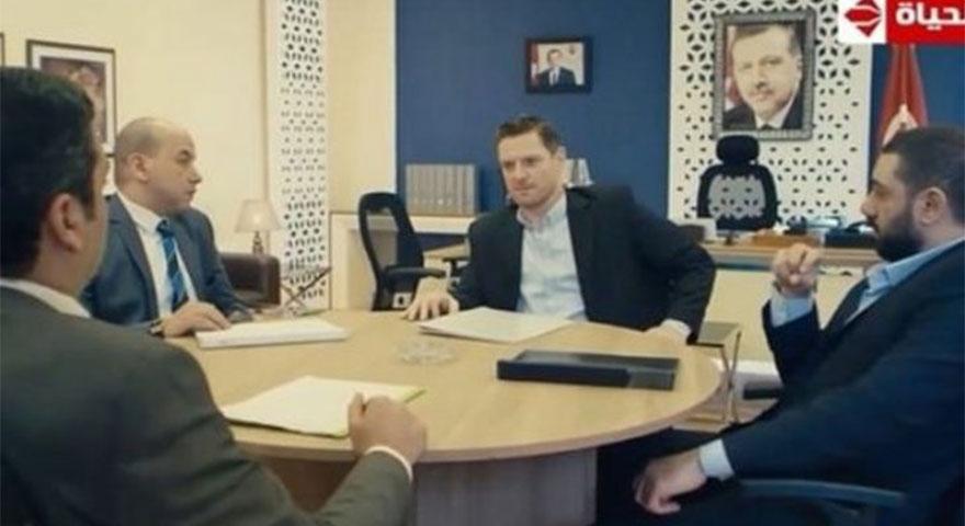 Ebu Ömer el-Mısriyye Mısır dizisinde skandal Erdoğan sahnesi