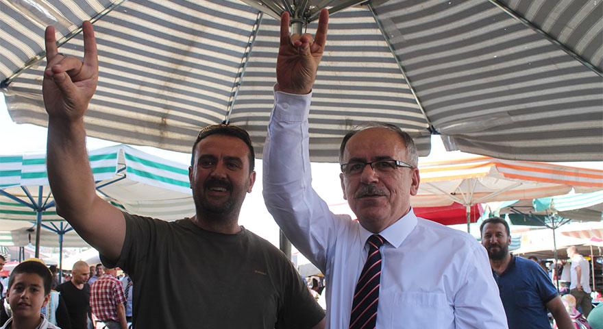 Mustafa Kalaycı seçim çalışmalarını sürdürüyor