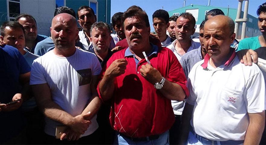 Silivri'de 75 gündür maaş alamayan işçiler çaresizce bekliyor