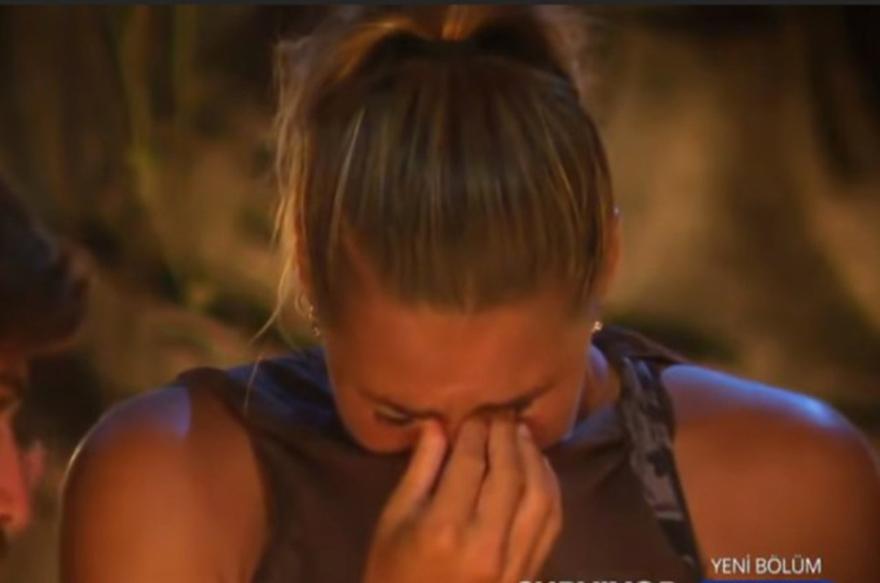 Survivor'da Damla gözyaşlarını tutamadı