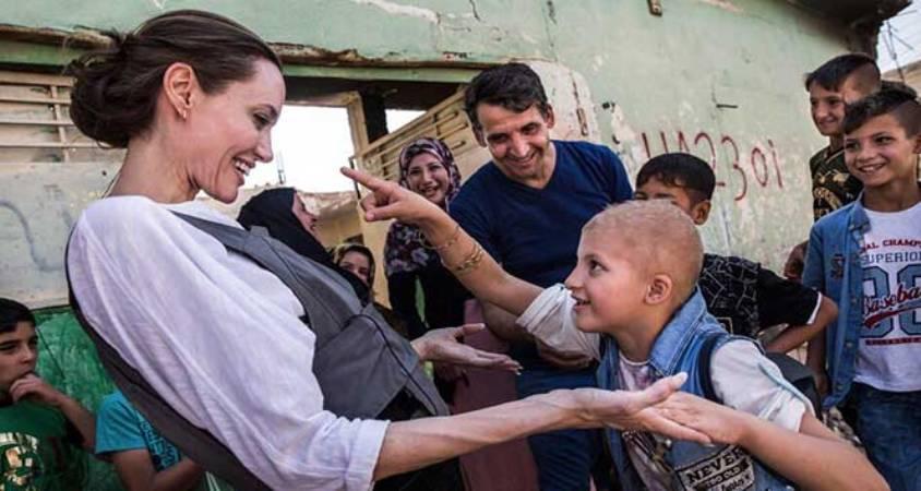 Angelina Jolie, Irak'a ziyarette bulundu