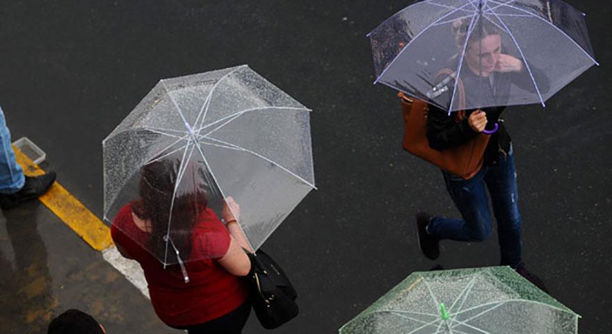 Meteoroloji'den sondakika hava durumu uyarısı!Yağış geliyor