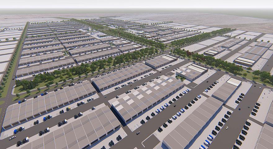 TOKİ'den sanayiye büyük yatırım