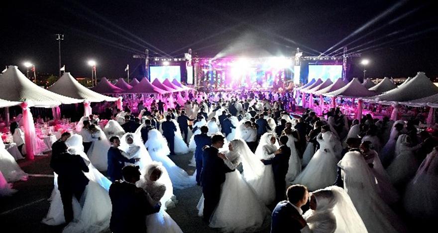 Ankara Büyükşehir Belediyesi'nden toplu nikah töreni