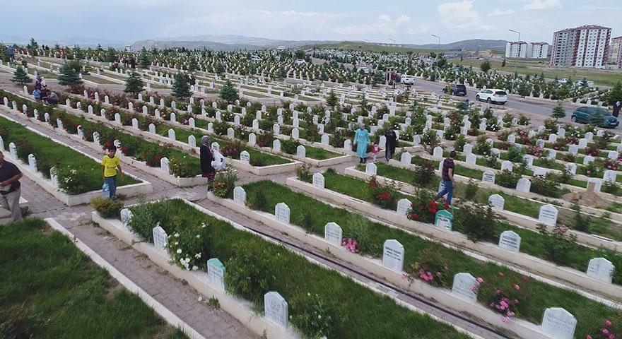 Türkiye'de bir ilk! Sivas'ta mezarlıkta kentsel dönüşüm