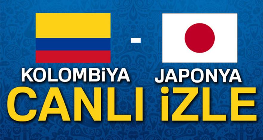 Kolombiya Japonya maçı ne zaman, saat kaçta?