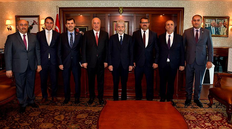 Tuna'ya büyükelçilerden ziyaret