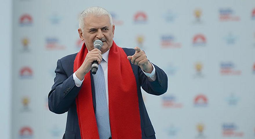 Başbakan Yıldırım'dan Muharrem İnce'ye 'küfür' eleştirisi