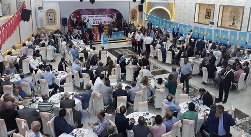 İyi Parti Mamak İlçe Başkanlığı Kırıkkalelileri bir araya getirdi
