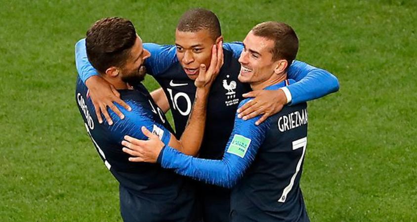 Fransa tek golle devirdi
