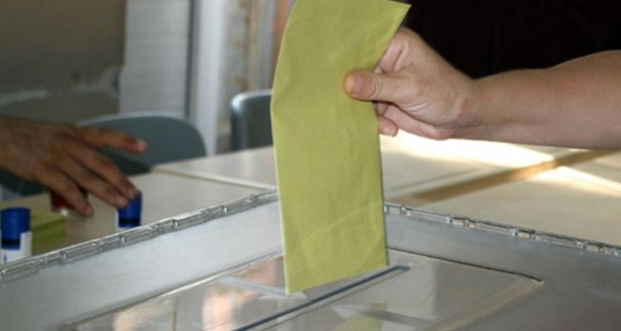 Oy verme işlemi sona erdi!