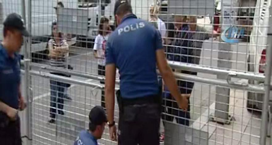 YSK'da yoğun güvenlik önlemi alındı