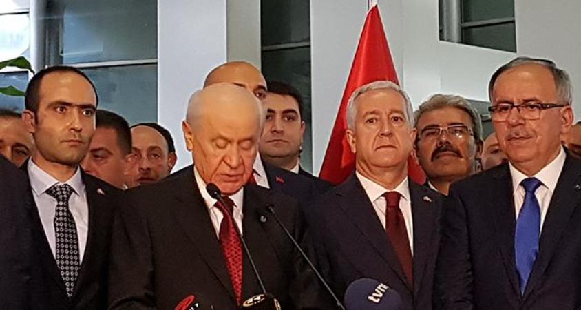 MHP Lideri Bahçeli: 'Türk milleti MHP'yi kilit partisi yapmış'