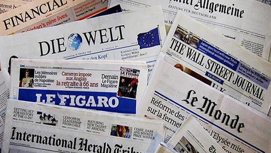 Türkiye'deki seçimler dünya basınında da yer aldı