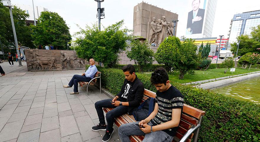 Büyükşehir'den ücretsiz wi-fi hizmeti