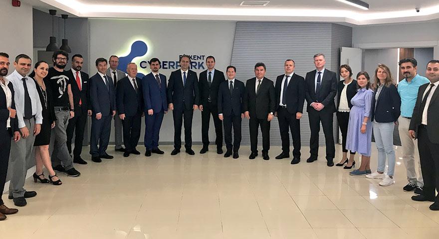 Bilkent'te işbirliği ve iş fırsatlarını görüştüler