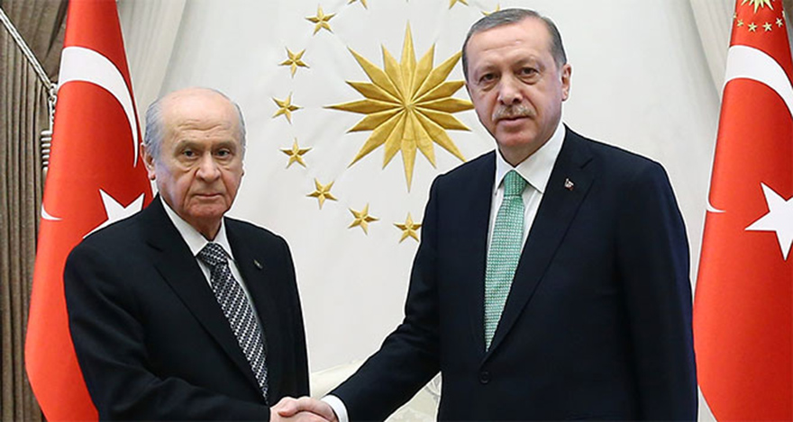 Erdoğan ve Bahçeli bugün biraya gelecek