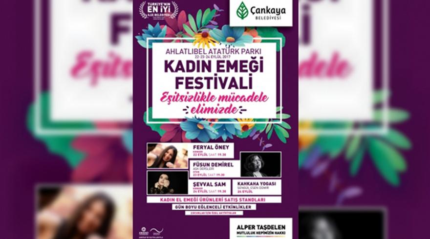 Kadın Emeği Festivali Çankaya'da başlıyor