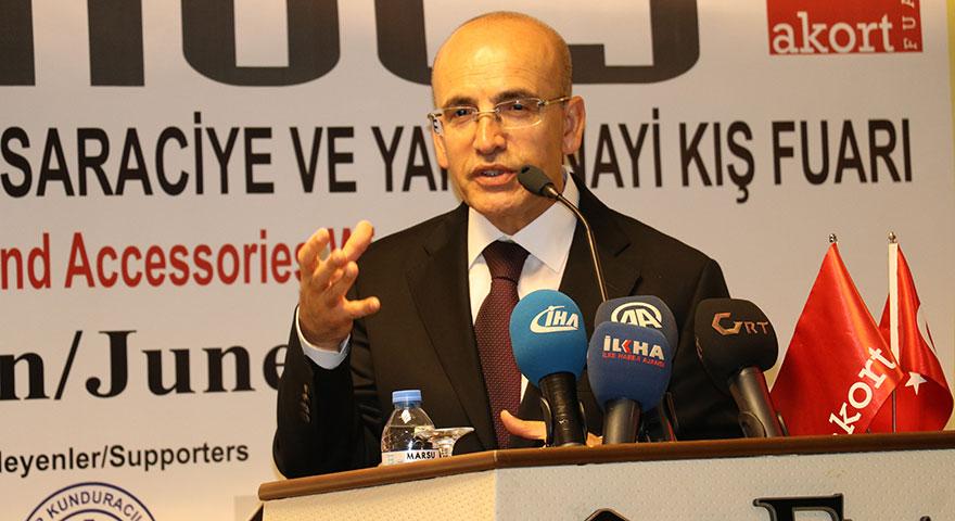 Mehmet Şimşek'ten 'sıçrama' açıklaması