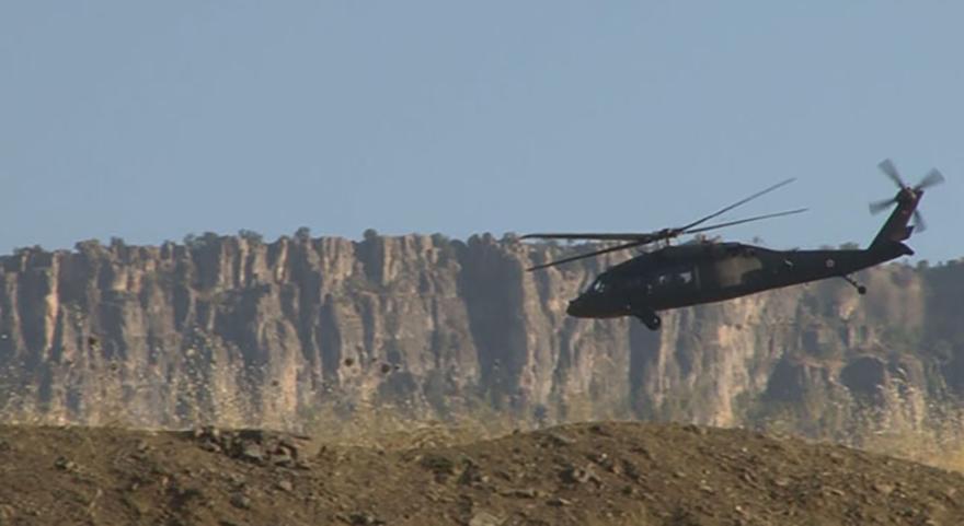 Irak sınırında askeri hareketlilik!