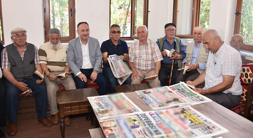 Kırıkkale'de 'Millet Kıraathanesi'ni millet açtı