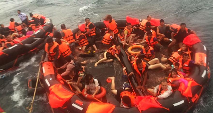 Turist teknesi battı: 7 ölü