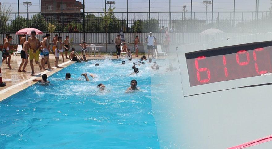 Termometreler çıldırdı! Şanlıurfa'da sıcaklar 61 dereceyi gördü