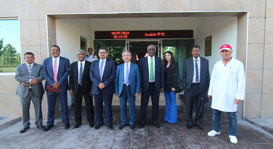Sudan Ticaret Bakanı ATB Et Borsası'nı ziyaret etti