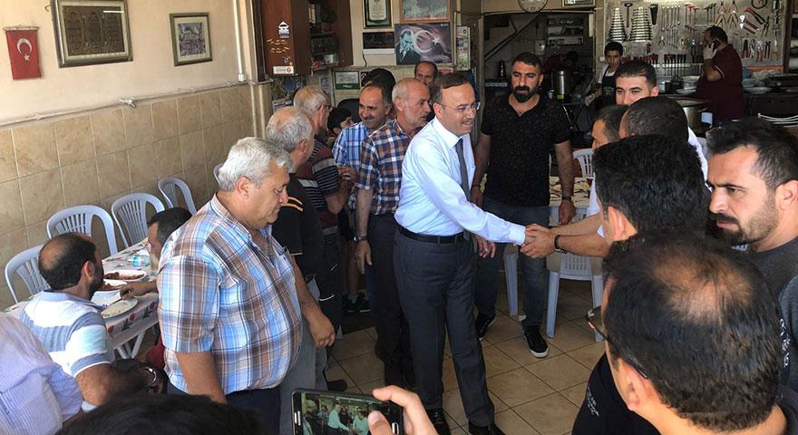 Hacı Turan: Vatandaşa hizmet için daha çok çalışacağız