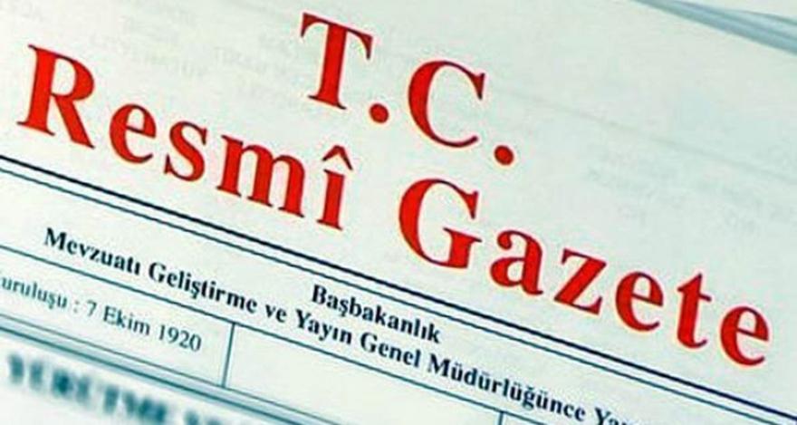 Cumhurbaşkanının yemin törenine ilişkin KHK Resmi Gazete'de yayımlandı