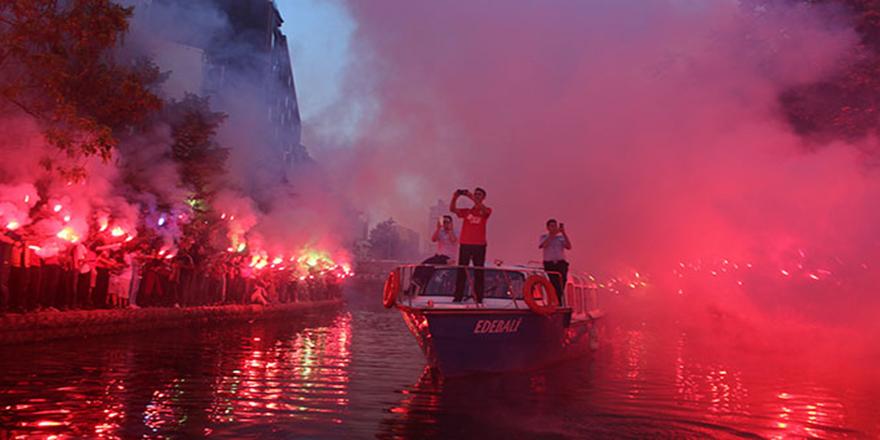 Eskişehir'de karnaval havası yaşandı