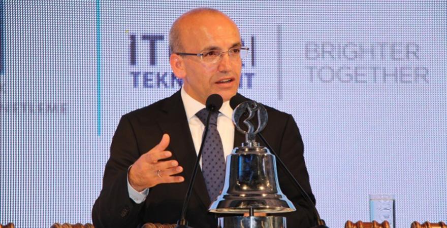 Mehmet Şimşek veda etti