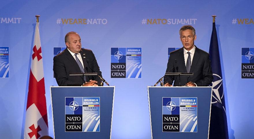 Gürçistan'da NATO üyesi oluyor