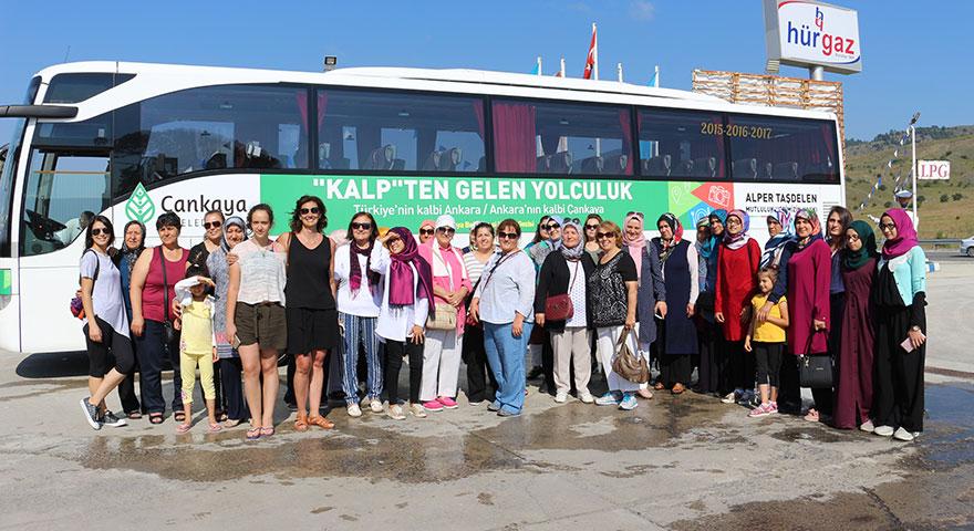 Kırşehirli hanımlardan Batı Karadeniz'e çıkarma