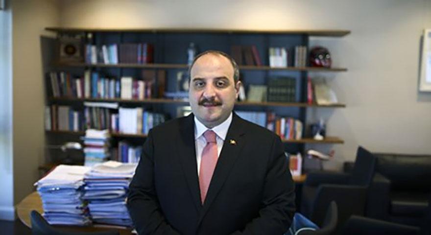 Sanayi ve Teknoloji Bakanı Mustafa Varank'tan ilk icraat