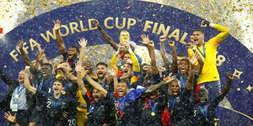 Fransa 2018 FIFA Dünya Kupasını aldı