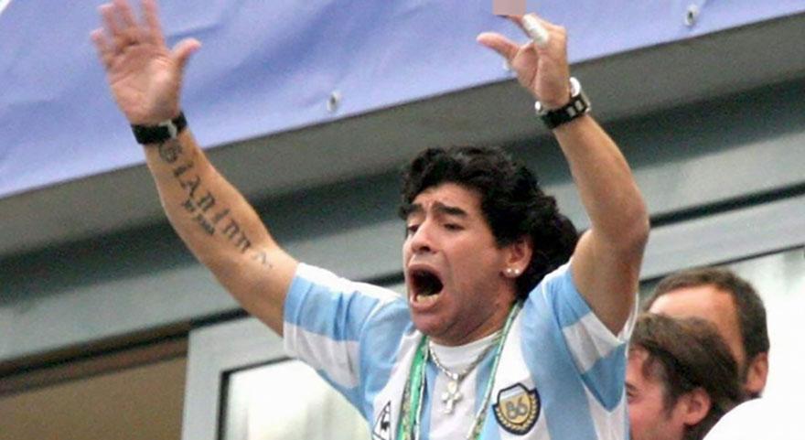 Maradona'dan Filistin çıkışı