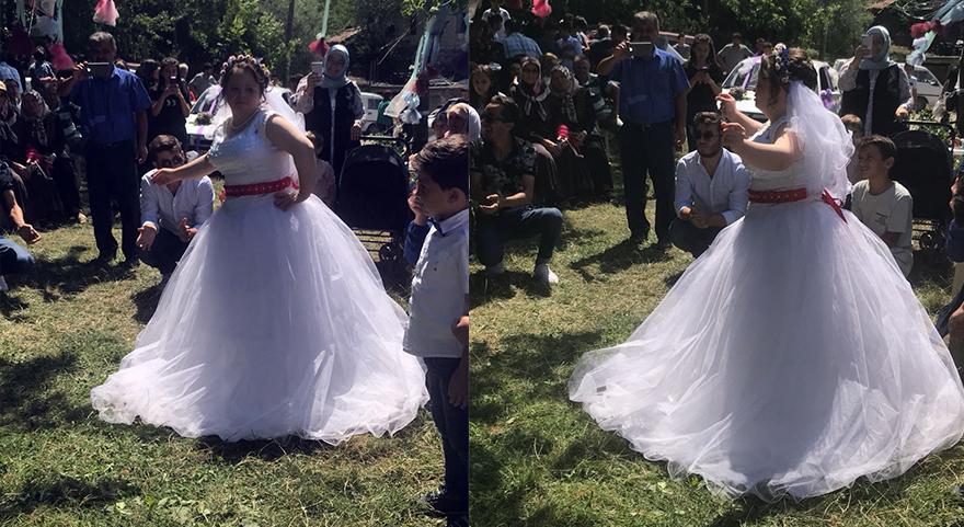 Damatsız düğün yaptılar! Hayali gerçek oldu