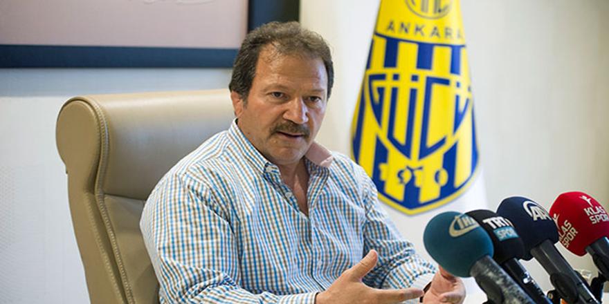 Ankaragücü Başkanı Yiğiner: 'Yenikent 'de oynamak istiyoruz