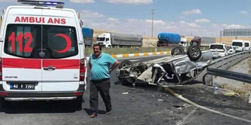 Ankara'daki trafik kazasında 2 kişi hayatını kaybetti