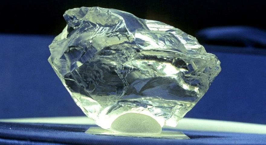 Afrika'nın güneyinde 10 katrilyon ton elmas bulundu