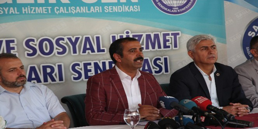 """Sağlık-Sen Genel Başkanı Memiş: """"Yeni sistemle sağlıkta yıpranma payı Mecliste"""""""
